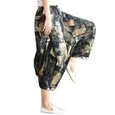 Original Folk Custom Harem Spring Lose große Yoga Weite Hosen