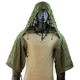 TTGTACTICAL GH20 Breathable Mesh Airsoft Sniper Ghillie Suit Foundation Outdoor Hunting Tactical Ghillie Jacket