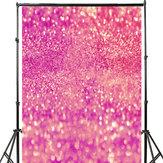 3x5FT 5x7FT Vinil Pembe Parlayan Glitters Fotoğraf Arka Plan Zemin Stüdyo Prop
