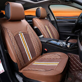 1PC Deluxe PU Leather Auto Car Seat Cover Full Front Cushion Universal