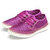 US Größe 5-11 Gasdurchlässige Elastische Beiläufige Schuhe Für Damen