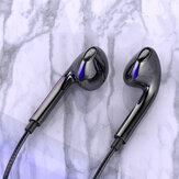 BakeeyQ2ワイヤードヘッドホン3.5MMスポーツイヤフォン、ベースフォンイヤフォンワイヤーステレオヘッドセットマイクミュージックイヤフォン