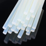 10Pcs 11mm x 19cm Claro Melt Glue Adhesivo Sticks adhesivo ambiental tira