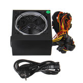 800W ATX 12V PC Computer Desktop Power Supply PCI SATA LED Fan 24pin Gaming