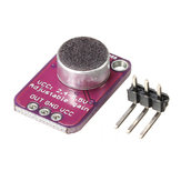 Arduino用の3個CJMCU-4466 MAX4466エレクトレットマイク調整可能アンプCMA-4544PF-W CJMCU-公式Arduinoボードで動作する製品
