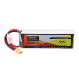 ZOP Power 11.1V 3500mAh 3S 60C Lipo Batteria XT60 Spina