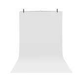 Photography Photo Screen Background Support Stand Triple Stand + White Backdrop