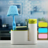 2Pcs Washing Utensils Hand Sanitizer  Detergent Bottled Storage Box