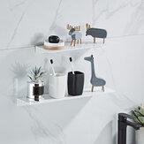 Estante para colgar en la pared blanco y negro 30/40/50 / 60CM productos conveniente soporte de almacenamiento en el hogar decoración de la pared del dormitorio