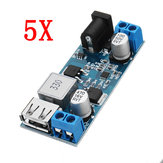 5pcs 24V / 12V To 5V 5A DC-DC Buck Power Module Step Down Module Power Converter
