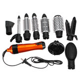 SURKER 1000W 220V-240V 10 in 1 Hair Curler Straightener