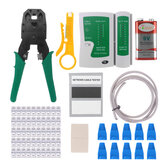 Netwerk Ethernet LAN Kit RJ45 Cat5 Cat6 kabeltester Crimper Crimping Plier Tool Set