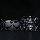 iFlight TITAN DC2 HD 122 mm 4S 2,5 cala BNF z cyfrową jednostką powietrzną DJI + gogle DJI FPV Racing Drone