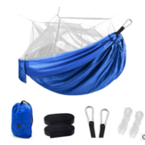 Ultralight Parachute Hammock Hunting Mosquito Net Double Person Sleeping Bed Garden Outdoor Camping Portable Hammock