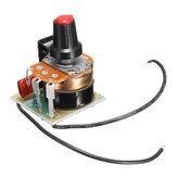 5 Adet 220V 500W Titreşim Regülatörü Sıcaklık Kontrol Hızı Valisi Kademesiz Değişken Hız BT136 Hız Kontrol Modülü