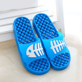 Fish Bone Massage Soft Sole Slip On Home Slippers
