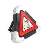 IPRee®LEDCOBUSBLampede travail solaire Lampe de mise en garde 5 Modes Lanterne d'urgence de camping en plein air
