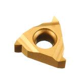 Drillpro 10 pezzi 11IR A60 Inserto per filettatura interna con inserto in metallo duro per portautensili di tornitura