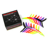 7 أزواج LDARC 5X4X3 5040 5 بوصة 3-Blade Rainbow Colorful Propeller CW CCW for RC Drone FPV Racing