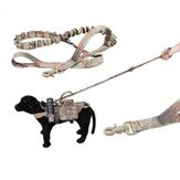 Tactical Multi-Function Versatile Longer Training Dog Bungee Leash Hunting Military Nylon Rope