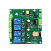 AC / DC Τροφοδοσία ESP8266 WIFI Four-way Relay Module ESP-12F Development Board Secondary Development