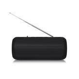 Новый Rixing NRB1 10 Вт Беспроводная связь Bluetooth 5.0 Динамик FM Радио Двойная пассивная диафрагма TWS NFC Бас-стереосистема на открытом воздухе Soundbar с