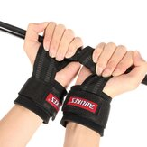 Weight Lifting Hand Grips Straps Wrist Protector Gym Training Wraps Gloves LJ