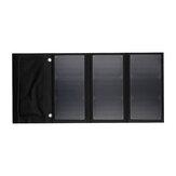 30W 5V Składany panel słoneczny Power Bank Podwójna szybka ładowarka USB Wodoodporna przenośna