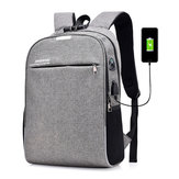 20L Anti-Theft Men Laptop Notebook Backpack USB Port ładowania Torba szkolna z hasłem