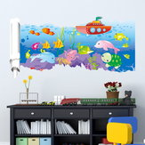 23X47 Inches PAG 3D Muursticker Broken Paper Series II Woonkamer Wand Decoratie