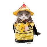 Halloween Decoration Pets Cosplay Transfiguration Dog Cat Clothes Toys  Emperor Section