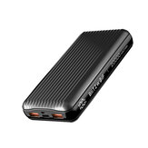 BlitzWolf® BW-P14 60W 74Wh 20000mAh Power Bank External Battery Power Supply With 60W USB-C PD & 27W QC3.0 USB-A * 2 Support PPS PD3.0 QC4.0+ QC3.0 AFC FCP SCP VOOC Dash Warp Fast Charging