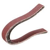 3pcs 25x760mm 100 Grit Sanding Belts Abrasive Tool
