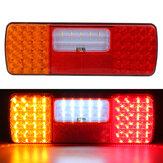 55 + 6LED 12-24V lewe tylne światło stopu światło hamowania kierunkowskaz dla ciężarówki
