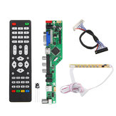 T.RD8503.03 Universal LCD LED TV Controller Driver Board TV/PC/VGA/HDMI/USB+7 Key Button+2ch 8bit 30 LVDS Cable