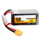 ZOP Power 14.8V 1800mAh 65C 4S Lipo Battery XT60 stik til RC FPV Racing Drone
