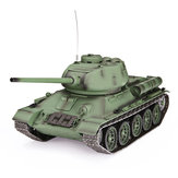 Heng Long 3909-1 1/16 2.4G T-34 Rc Coche Battle Tank Metal Track W / Sound Smoke Toy