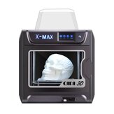 QIDI® X-MAX Industrial Grade Pre Assembled 3D Printer Kit 300x250x300mm Large Printing Area with Two Extruder / 5Inch Touch Screen / Wifi Connection