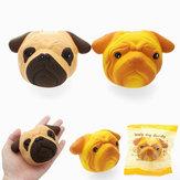 Squishy 11cm del pane del viso del cucciolo del cane di SquishyShop che aumenta lentamente con il giocattolo della decorazione del regalo di raccolta dell'imballaggio