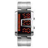 SKMEI 1179 Fashion Men Watch Wasserdichte Creative LED Digitaluhr