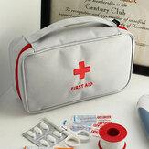 حقيبة كبيرة الطب السفر الإسعافات الأولية حقيبة الطوارئ في الهواء الطلق التخييم حبوب منع الحمل حقيبة تخزين بقاء كيت