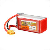 ZOP Power 14.8V 1500mAh 4S 45C Lipo Battery XT60 Plug