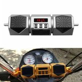 ضد للماء Motorcycle بلوتوث Speaker صوت Radio MP3 Sound System FM Stereo Gold / Sliver