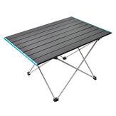 الألومنيوم في الهواء الطلق أشابة طاولة قابلة للطي المحمولة خفيفة للغاية نزهة التخييم الألومنيوم لوحة مكتب الشواء أثاث القيادة الذاتية