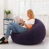 Большой надувной стул 110x85см Сумка PVC Внутренний / На открытом воздухе Сад Мебельный салон Для взрослых Ленивый диван без наполнителя Склад