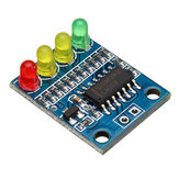 FXD-82B 12V Battery Indicator Board Module Load 4 Digit Electricity Indication With LED Lamp