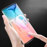 Bakeey Ondersteuning Vingerafdruksensor Ontgrendelen 3D Gebogen Rand Gehard Glas Screen Protector Voor Samsung Galaxy S10 / Galaxy S10 Plus