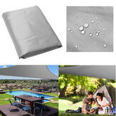 5x5x5M Triangle Tent Sunshade Sail Cloth Shadecloth Outdoor Canopy Awning 280gsm