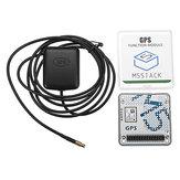 Moduł GPS z wewnętrzną i zewnętrzną anteną Interfejs MCX Płytka rozwojowa IoT ESP32 M5Stack dla Arduino - produkty współpracujące z oficjalnymi tablicami Arduino
