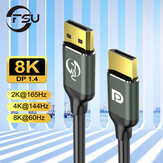 FSU HD 1080P DP to DP Adapter Cable 144Hz 1.2V 4K 60Hz Displayport Cable for HDTV Projector Laptop